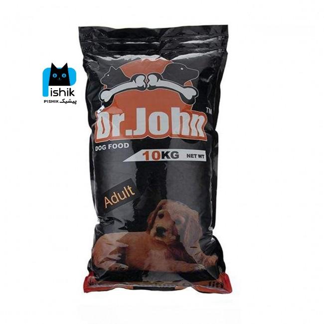 غذای خشک سگ دکتر ژان 10 کیلوگرمی اقتصادی و اکونومی