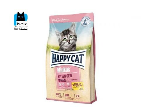 غذای بچه گربه مینکاس مخلوط هپی کت 1.5 کیلوگرمی