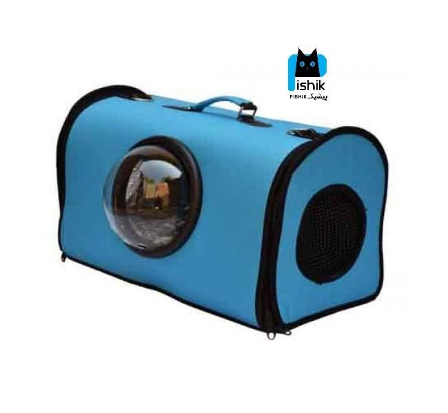 کیف حمل سگ و گربه طرح فضایی حباب دار