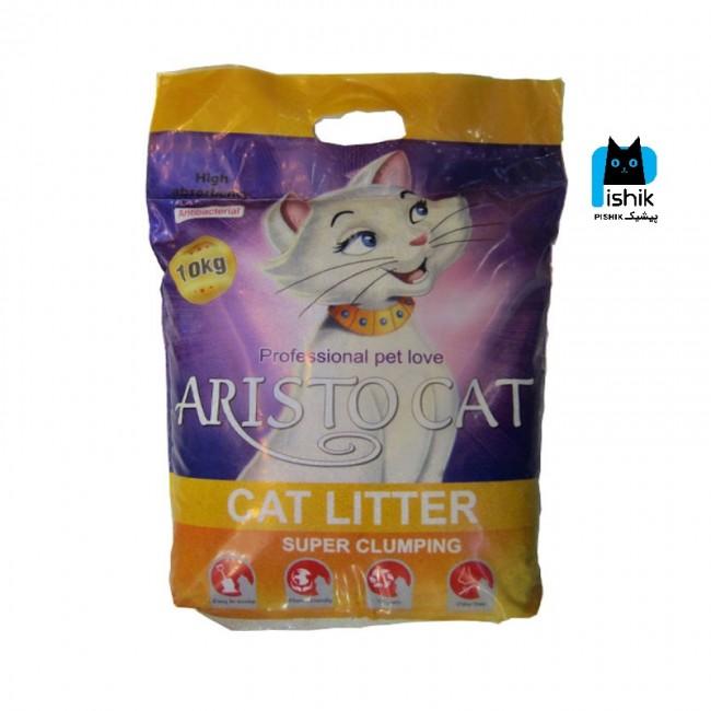 خاک بستر گربه آریستوکت 10 کیلوگرمی