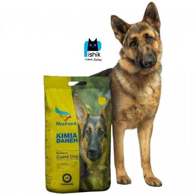 غذای خشک سگ 5 کیلوگرمی مفید مخصوص سگ های نگهبان و گارد