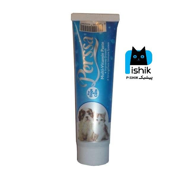 خمیر مولتی ویتامین سگ و گربه پرسا