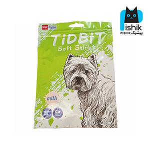 غذای تشویقی سگ تیدبیت مدل Milk وزن ۷۰ گرم TIDBIT