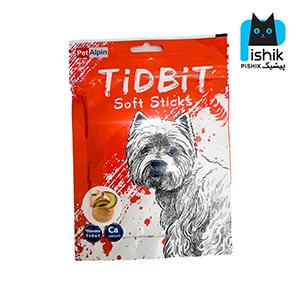 غذای تشویقی سگ تیدبیت مدل Chicken & melon وزن ۷۰ گرم TIDBIT