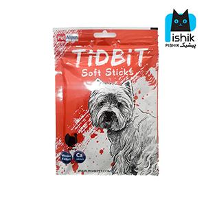 غذای تشویقی سگ تیدبیت مدل Turkey وزن ۷۰ گرم طعم بوقلمون TIDBIT