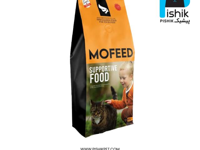 غذای خشک گربه بالغ مفید حمایتی  SUPPORTIVE ADULT CAT FOOD بسته 1 کیلوگرمی فله