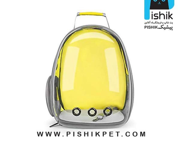 کیف حمل سگ و گربه شیشه ای
