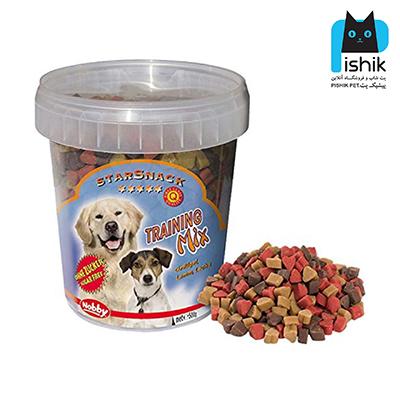 غذای تشویقی سگ نوبی TRAINING MIX قلبی 500 گرمی