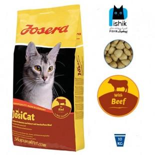 غذای خشک جوسی کت جوسرا مخصوص گربه های بالغ با طعم گوشت گوساله 10 کیلویی