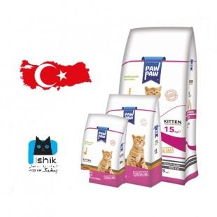 غذای بچه گربه سوپر پرمیوم پاوپاو 1.5KG