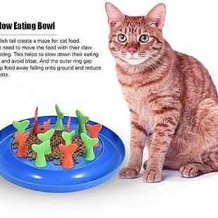 پازل غذای آهسته خور (گربه)
