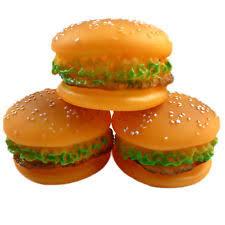 اسباب بازی همبرگر پلاستیکی صدادار (مخصوصسگ)