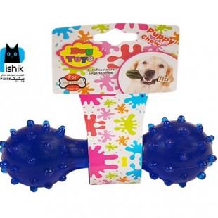 اسباب بازی دندان گیر گرز و دمبل مارک Dog Toy