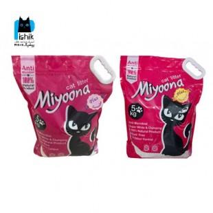 خاک گربه عطری میونا پلاس 5 کیلویی
