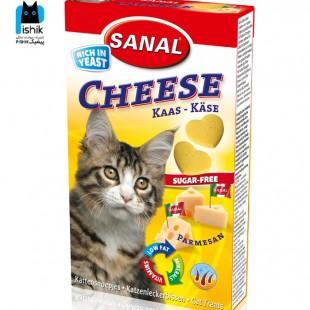 تشویقی درمانی گربه همراه با پنیر 30 گرمی