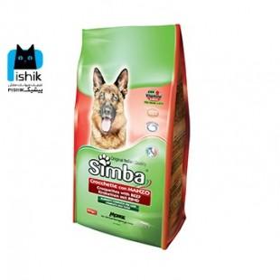 غذای خشک سیمبا سگ 20 کیلوگرمی با طعم گوشت گوساله