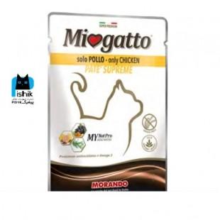 پوچ سوپر پریمیوم Miogatto منو پروتئین مرغ