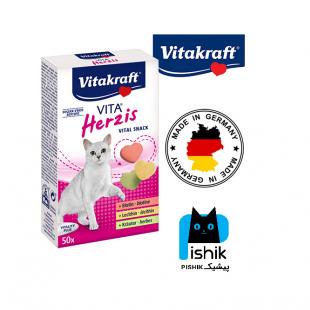 قرص بیوتین گربه ویتاکرافت (ضد ریزش مو)