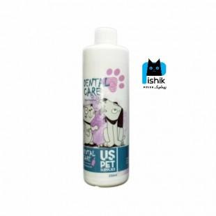 محلول ضد پلاک دندانی و خوشبو کننده دهان سگ و گربه، یو اس پت US PET