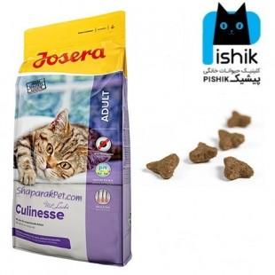غذای گربه بالغ کولینس حاوی گوشت پرندگان و سالمون 400 گرمی