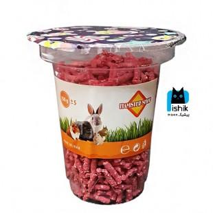 تشویقی جوندگان Hamester Shop همستر شاپ 150 گرمی با توت فرنگی
