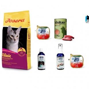پک غذای خشک گربه جوسی کت با طعم ماهی سالمون کلاسیک ۱۰ کیلویی جوسرا