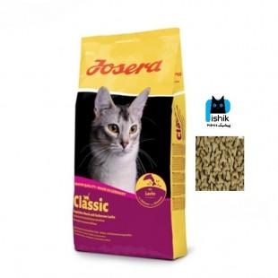 غذای خشک گربه جوسی کت با طعم ماهی سالمون کلاسیک 10 کیلوگرمی