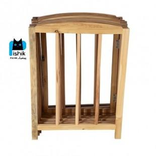 پارک محدود کننده سگ چوبی 8 ضلعی برند pethut