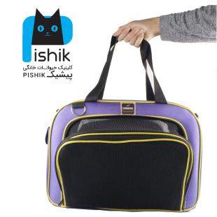 کیف مخصوص حمل سگ و گربه یک طرف باز شو