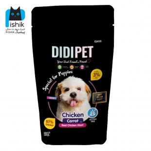 DIDI PET غذای تشویقی سگ دی دی پت مدل شیتزو وزن ۴۵ گرم