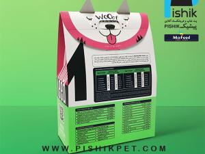 غذای سگهای نژاد کوچک توله با گوشت مرغ 500 گرمی MOFEED مفید PUPPY MINI DOG تا 4 ماهه
