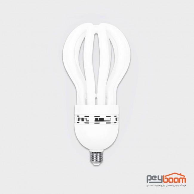 لامپ کم مصرف 105 وات پارس شعاع توس مدل لوتوس پایه E27