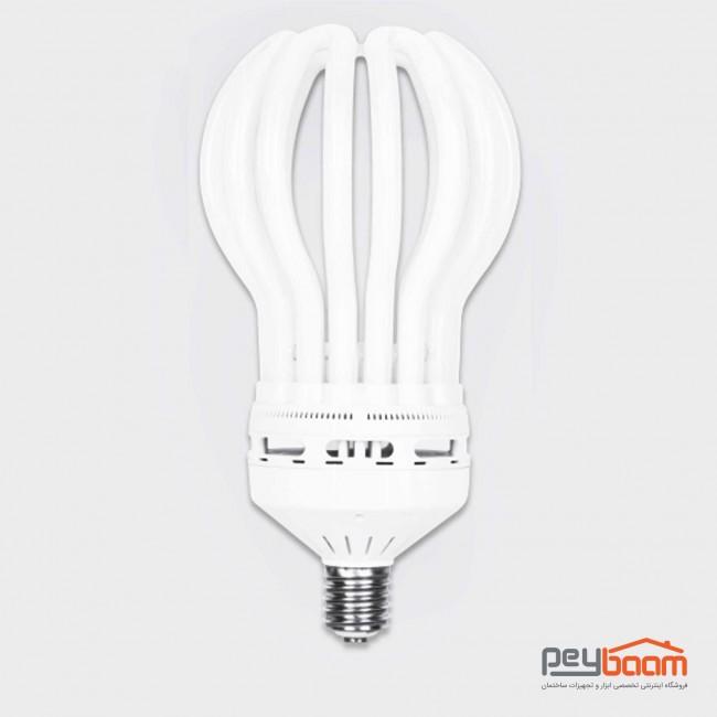 لامپ کم مصرف 200 وات پارس شعاع توس مدل لوتوس پایه E40