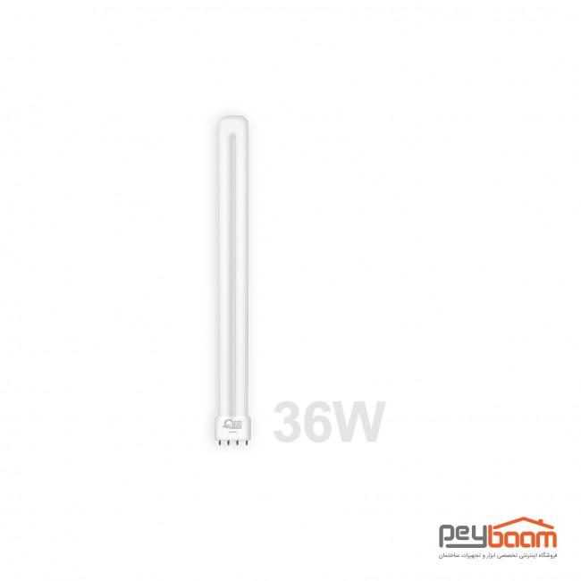 لامپ فلورسنت اف پی ال 36 وات پارس شعاع توس مدل PLL پایه 2G11
