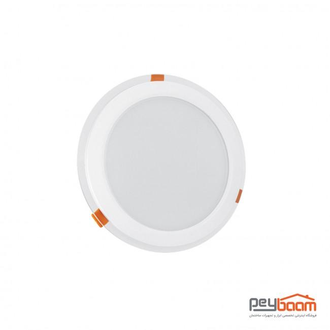 پنل ال ای دی 30 وات دایره ای پارس شعاع توس مدل گلاریس