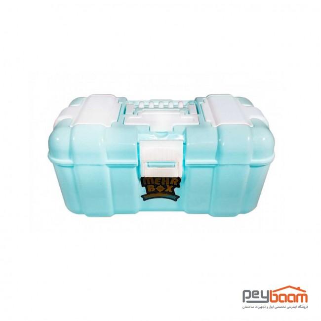 جعبه ابزار پلاستیکی مهر مدل H14