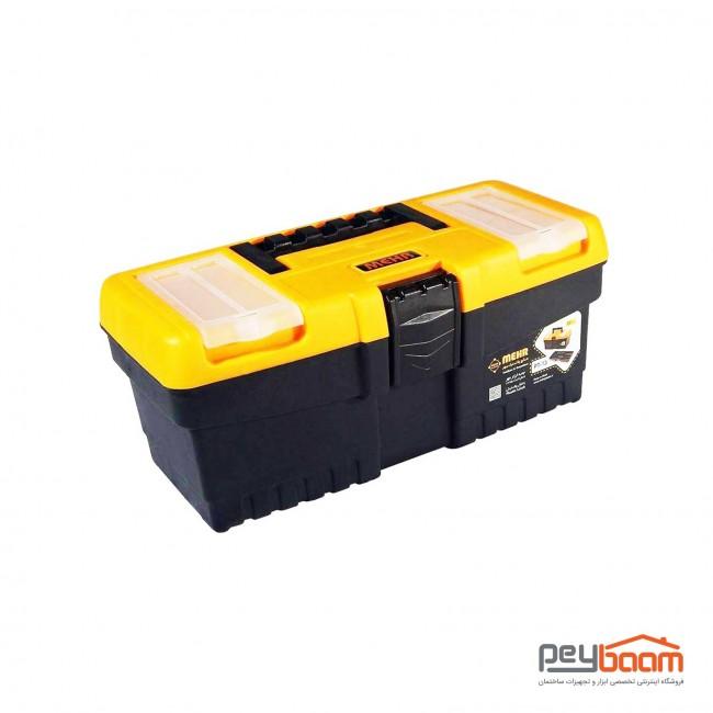 جعبه ابزار پلاستیکی مهر مدل PT-13 سایز 33 سانتی متر