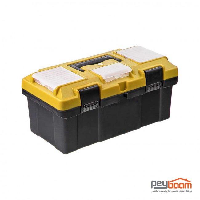 جعبه ابزار پلاستیکی مهدوی مدل MFG45 سایز 45 سانتی متر