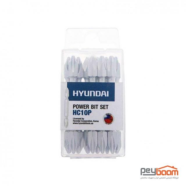 مجموعه 10 عددی سری پیچ گوشتی هیوندای مدل HC10P