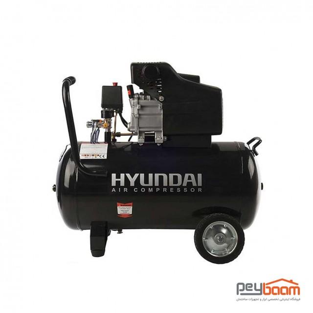 کمپرسور هوای 80 لیتری هیوندای مدل AC-8025
