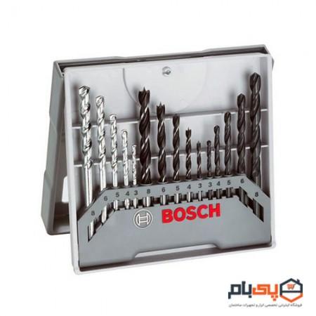 مجموعه 15 عددی مته بوش مدل 59100157