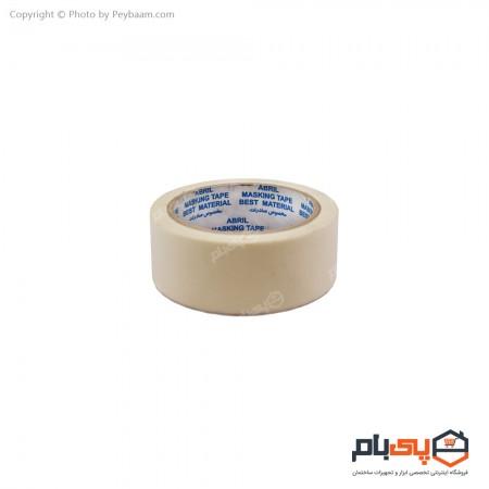 نوار چسب کاغذی آبریل پهنای 4 سانتی متر
