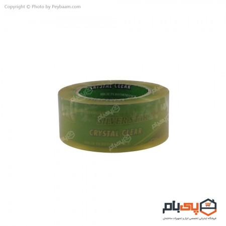 نوار چسب شفاف سیلور استار پهنای 5 سانتی متر 180 یارد