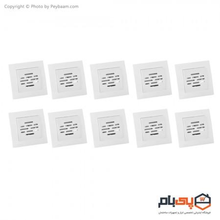 زنگ توکار ثابت الکتریک مدل پاور بسته 10 عددی