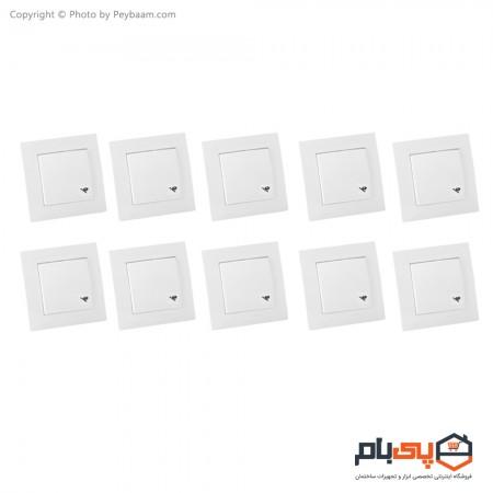 کلید راه پله ثابت الکتریک مدل پاور بسته 10 عددی