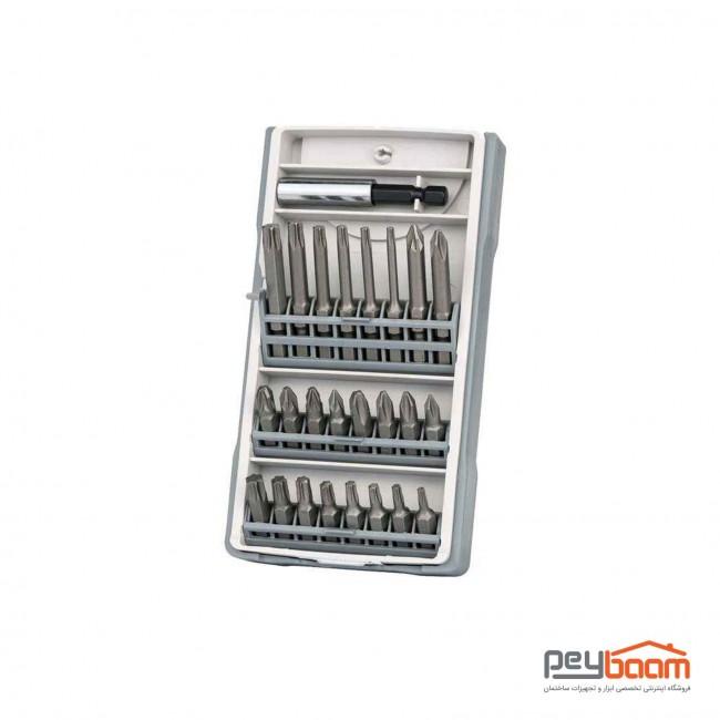 مجموعه 25 عددی سری پیچ گوشتی بوش مدل 2607017037