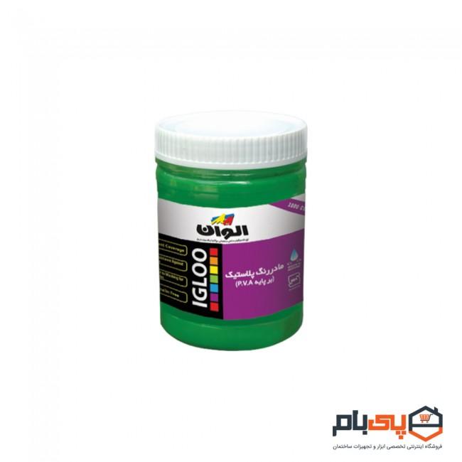 پوش رنگ مادر رنگ پلاستیک الوان مدل ALCO-4010 حجم 1000 سی سی