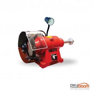 دستگاه سنگ پرداخت رومیزی محک مدل PGD200-3/1 L