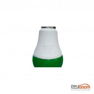 لامپ ال ای دی حبابی 9 وات رنگی پارس شعاع توس پایه E27
