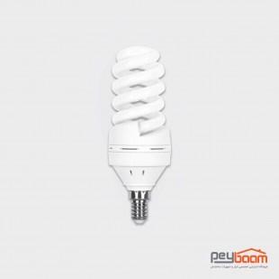 لامپ کم مصرف 18 وات پارس شعاع توس مدل تمام پیچ پایه E14